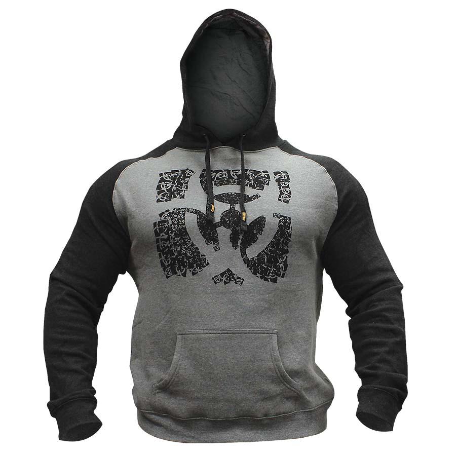 Mutant Hoodie – Train Like Hell Pullover (Grey)