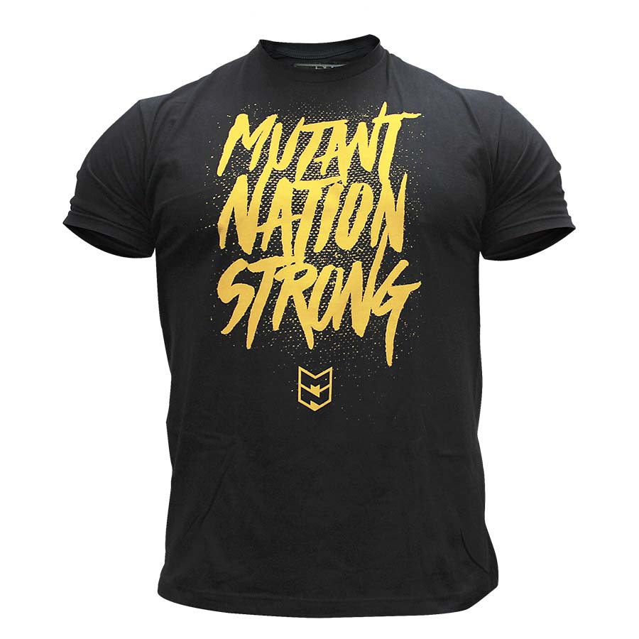 Mutant T-Shirt – Mutant Nation Strong (Black)