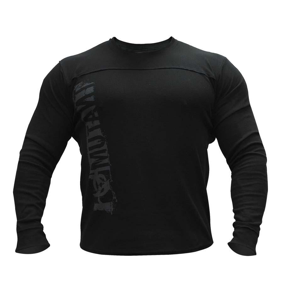 Mutant Long Sleeve Thermal Sweater – Leave Humanity Behind (Black)