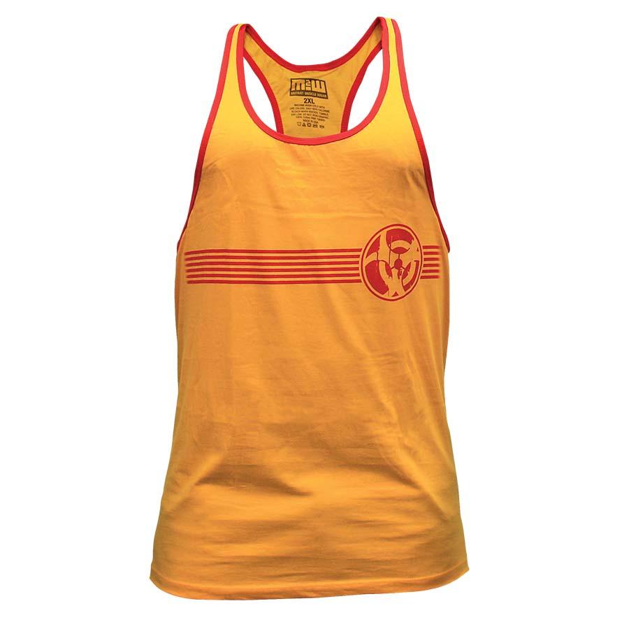 Mutant Tank Top – Retro T-Back (Yellow)