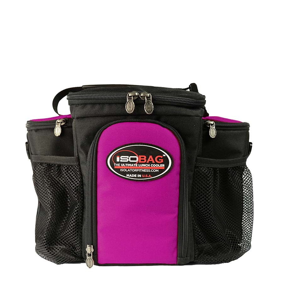 Isolator Fitness IsoBag (3 Meal) Fushsia