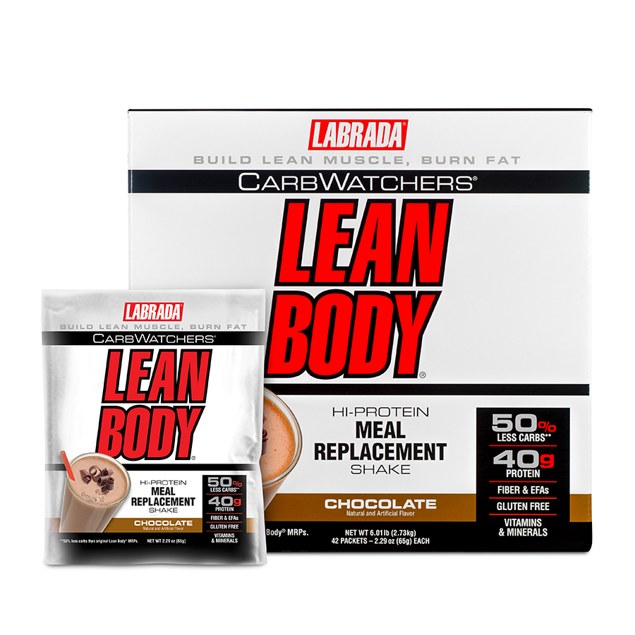 Labrada CarbWatches Lean Body Meal Replacement (42 serve) 42 x 65g