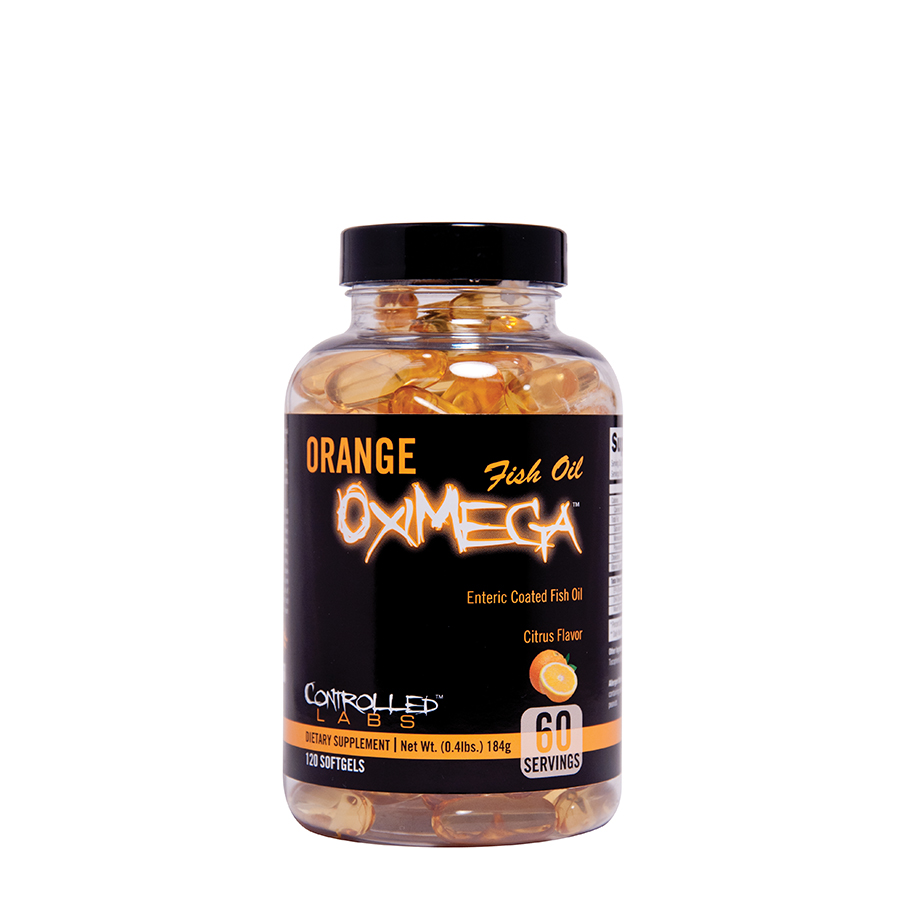 Controlled Labs Orange OxiMega Fish Oil (60 serve) 120 Tablets