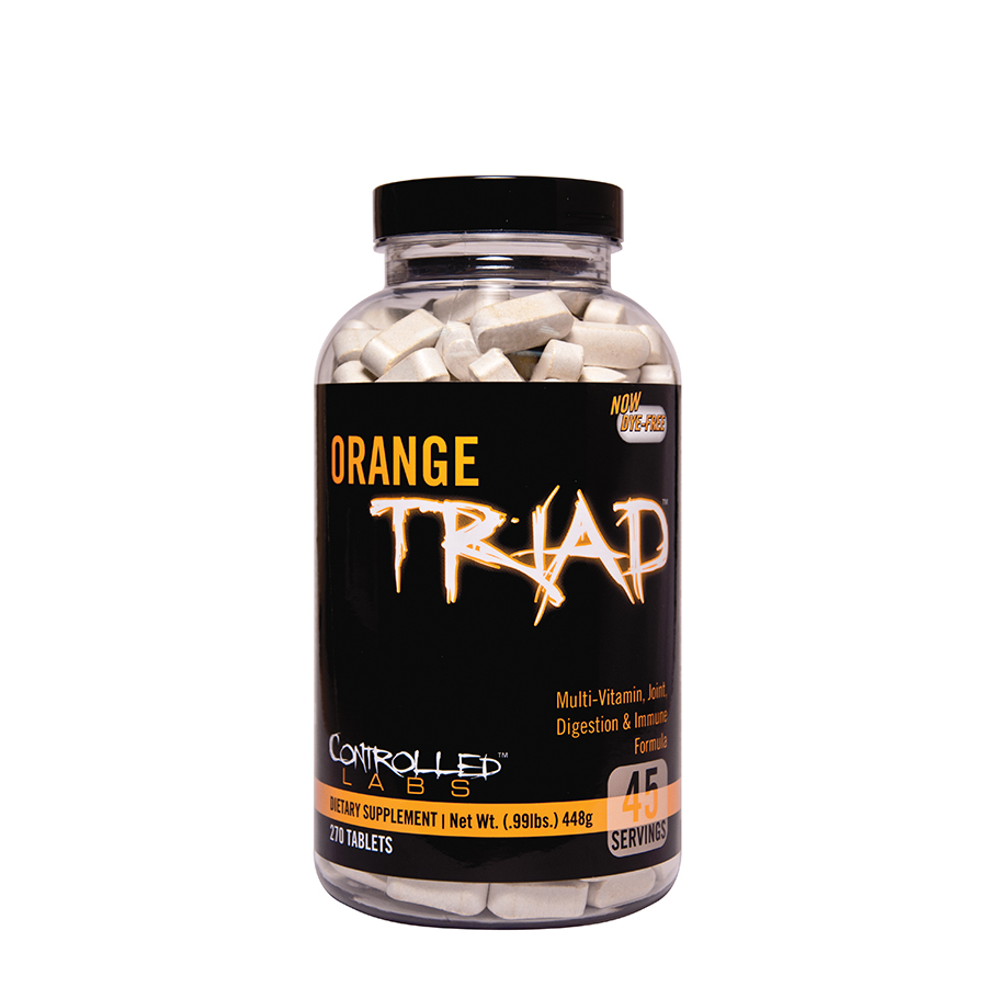 Controlled Labs Orange Triad (45 serve) 270 Tablets