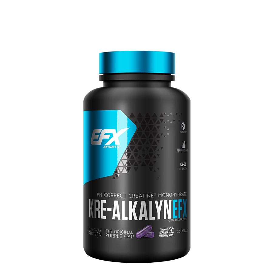 EFX Sports Kre-Alkalyn (60 Serve) 120 Capsules
