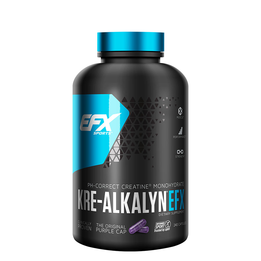 EFX Sports Kre-Alkalyn (120 Serve) 240 Capsules