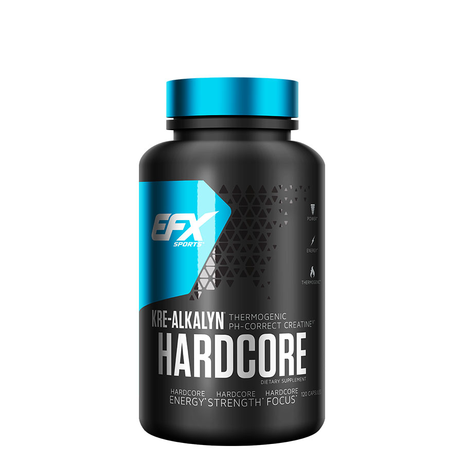 EFX Sports Kre-Alkalyn Hardcore (40 Serve) 120 Capsules