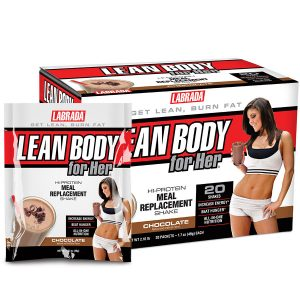Lean Body For Her Meal Replacement Shake (20 serve) 20 x 49g Sachets