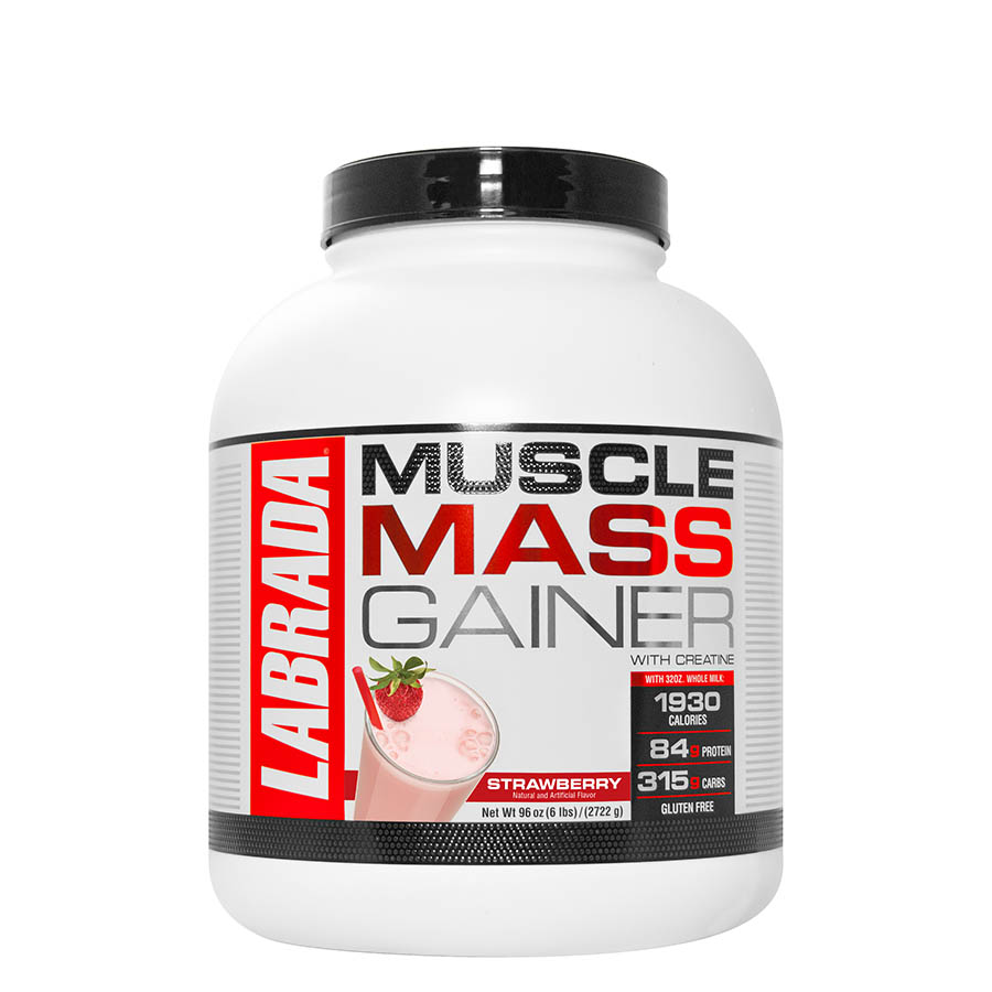 LABRADA MUSCLE MASS GAINER 2.7kg