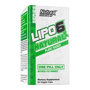 NUTREX LIPO-6 NATURAL (60 serve) 60 Veggie-Caps