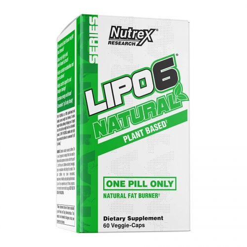 Nutrex Research Lipo 6 Natural (60 serve) 60 Veggie-Caps