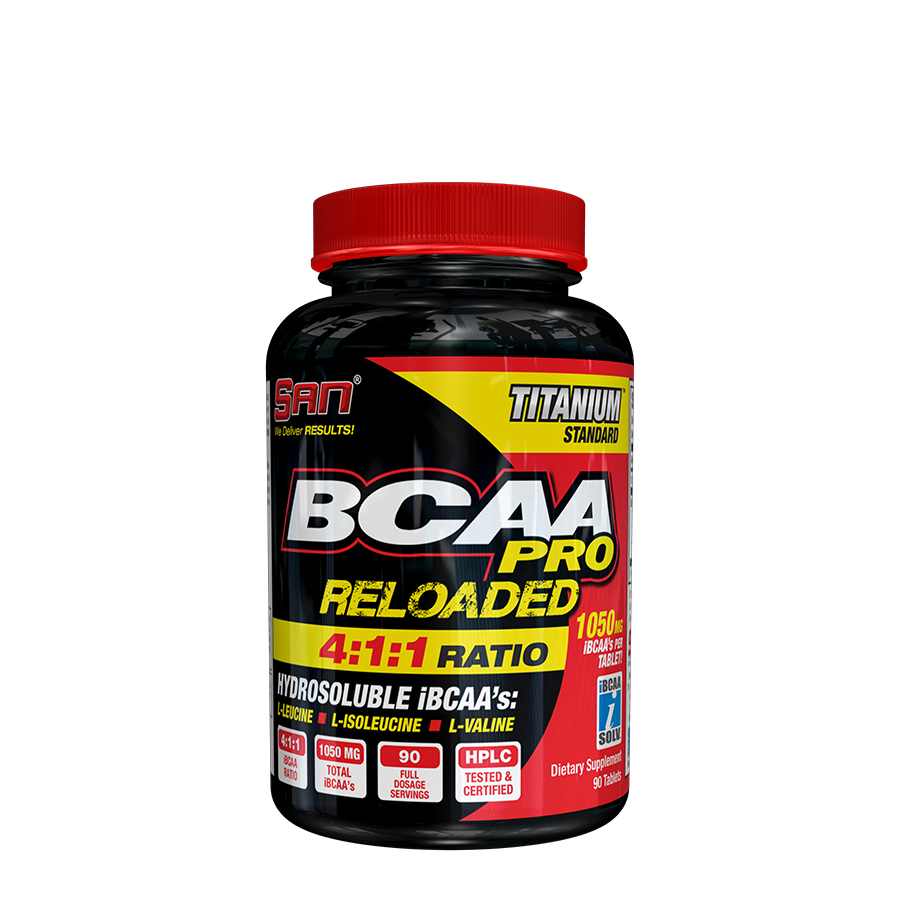 SAN Nutrition BCAA-Pro Reloaded (90 Serve) 90 Tablets