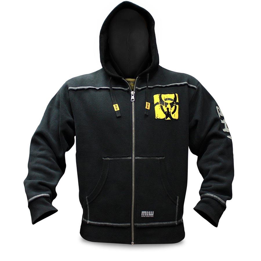 Mutant Hoodie – Premium Zip-Up (Black)