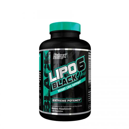 Nutrex Research Lipo6 Black Hers (40 Serve) 120 Capsules