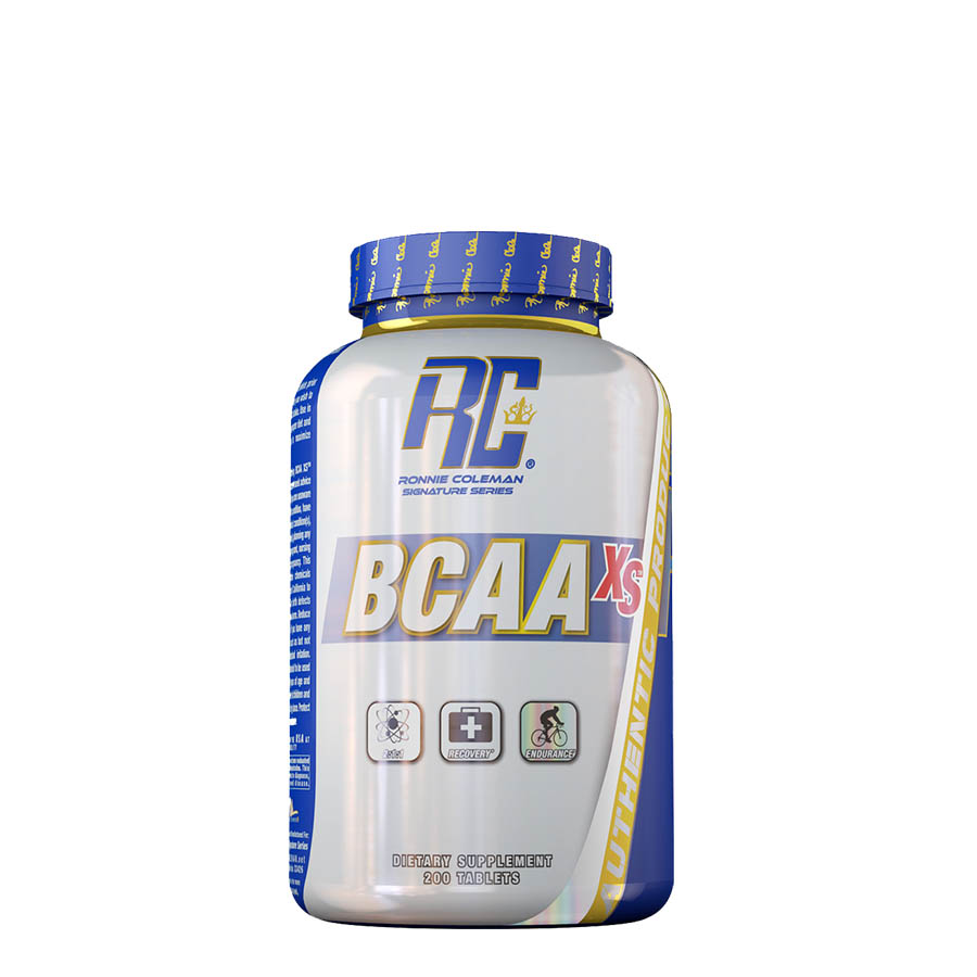Ronnie Coleman BCAA XS (50 serve) 200 Tablets