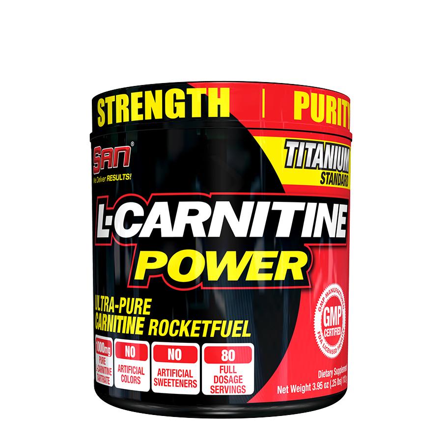 SAN Nutrition L-Carnitine Power (80 Serve) 112g