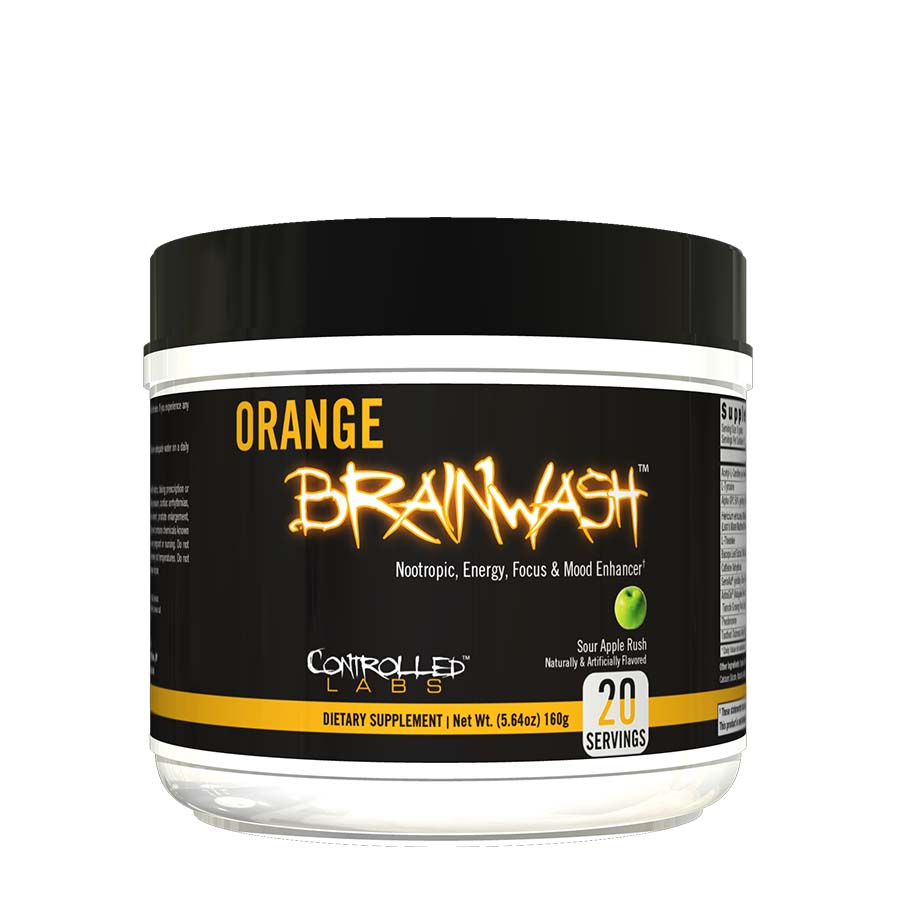 CONTROLLED LABS ORANGE BRAINWASH (20 SERVE) 160G