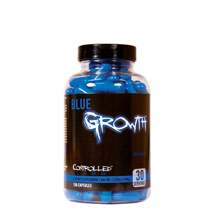 Controlled Labs Blue Growth (30 serve) 150 Capsules