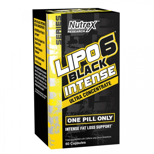Nutrex Research Lipo6 Black Intense (60 Serve) 60 Capsules
