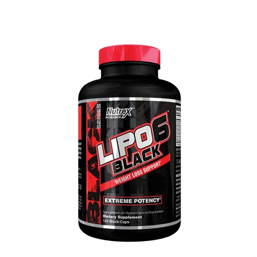 Nutrex Research Lipo6 Black (40 Serve) 120 Capsules