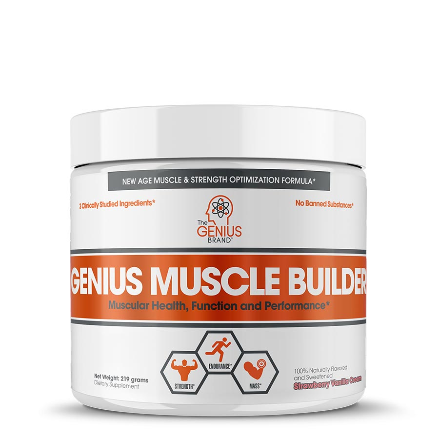 The Genius Brand GENIUS MUSCLE BUILDER (30 serve) 219g
