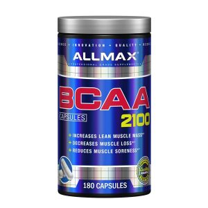 Allmax BCAA 2100 (60 Serve) 180 Capsules