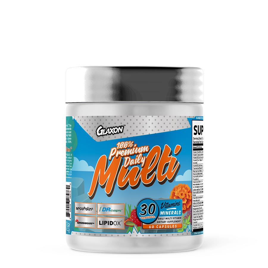 Glaxon 100% Premium Daily Multi (30 Serve) 60 Capsules