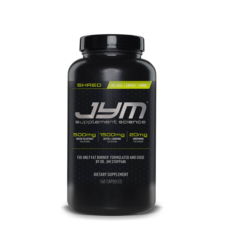 JYM Shred (40 Serve) 240 Capsules