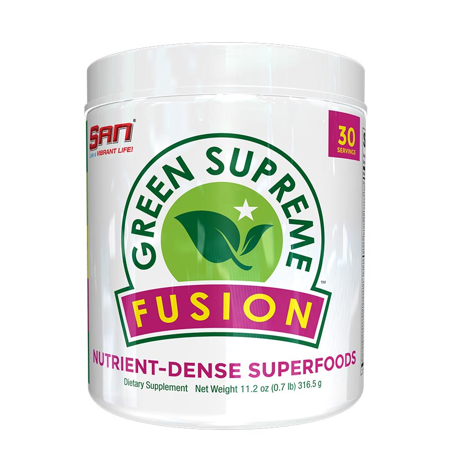 SAN Green Supreme Fusion (30 Serve) 316g