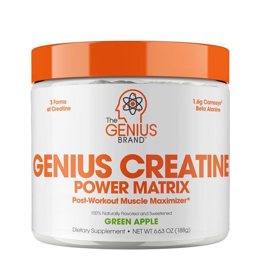 Genius Creatine (25 serve) 188g Green Apple