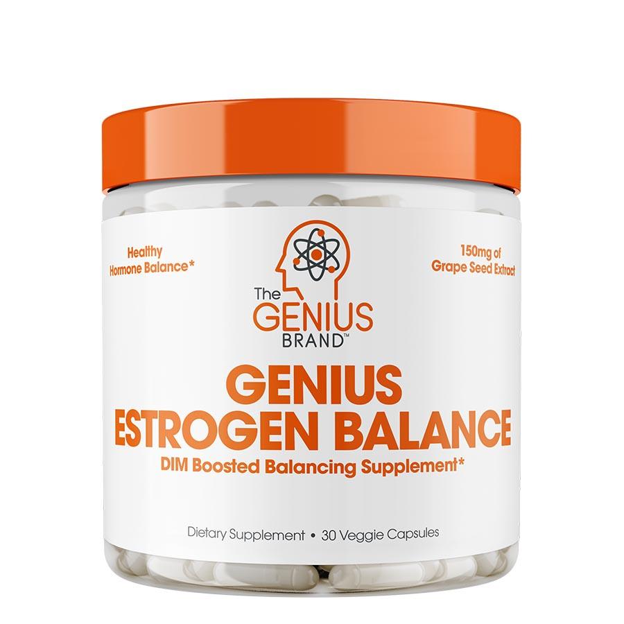 The Genius Brand Estrogen Balance (30 Serve) 30 Veggie Capsules