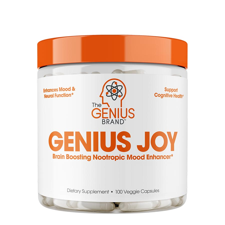 The Genius Brand GENIUS JOY (25 serve) 100 Veggie Capsules