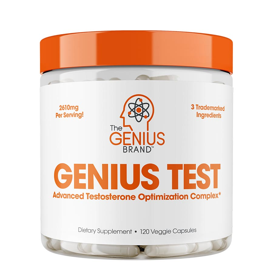 The Genius Brand TEST (30 Serve) 120 Veggie Capsules