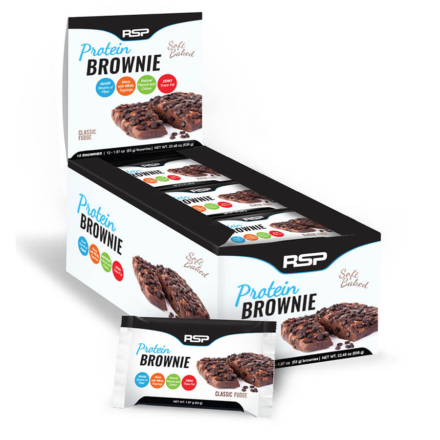 RSP Nutrition Protein Brownie (12 pack) 53g