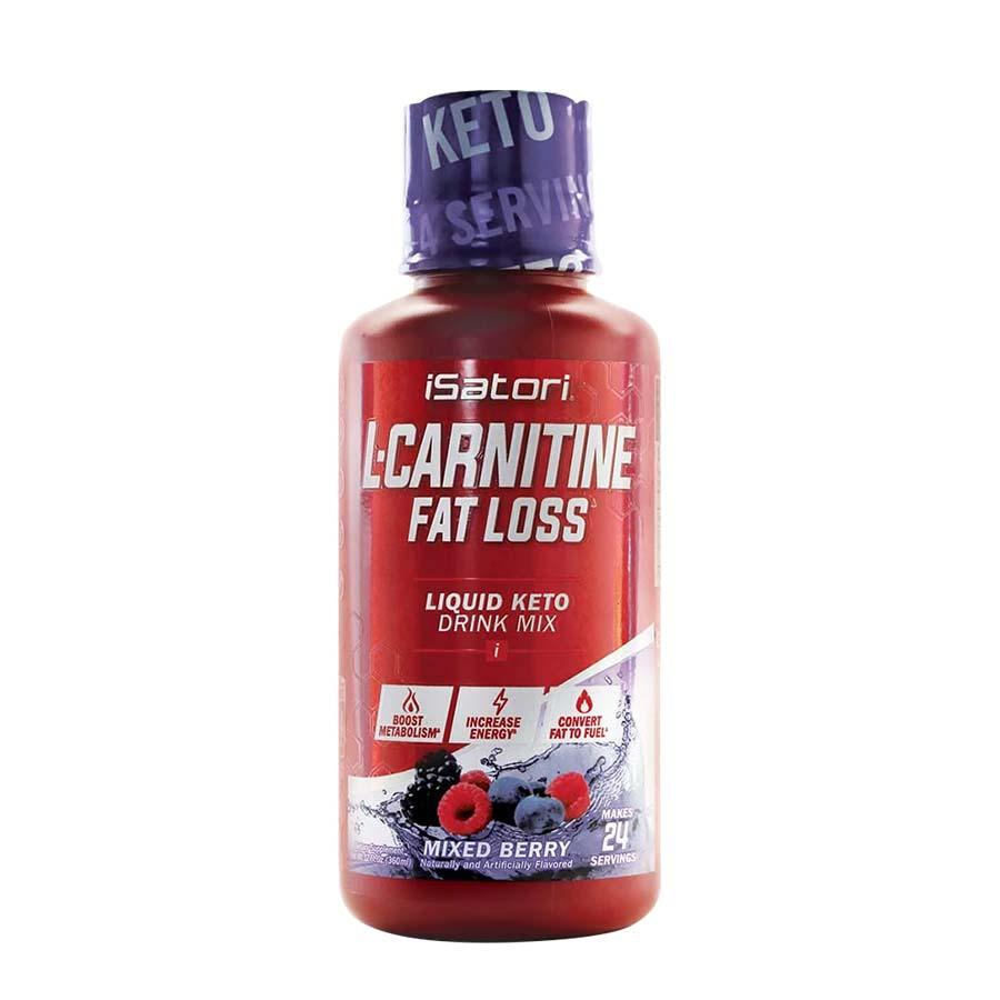 iSatori Liquid L-Carnitine Fat Loss (24 serve) 360ml