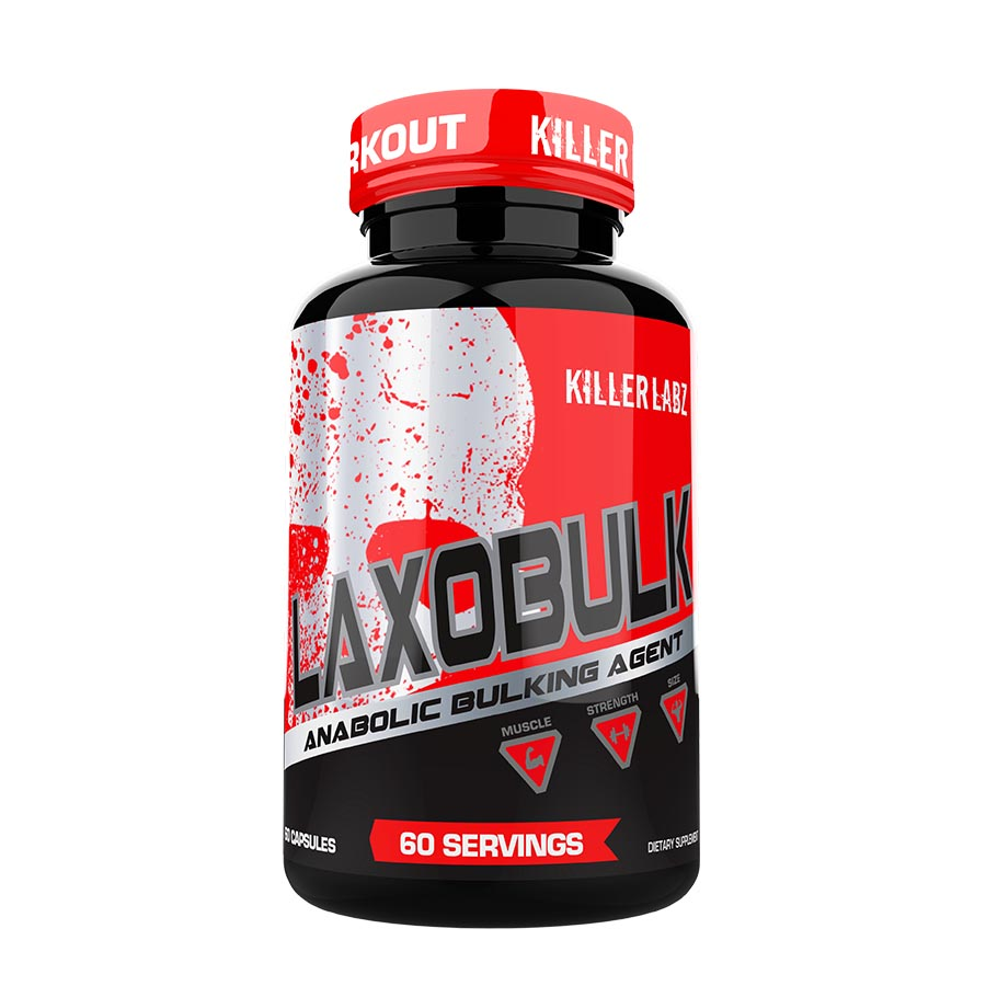 KILLER LABZ LAXOBULK (60 serve) 60 Capsules