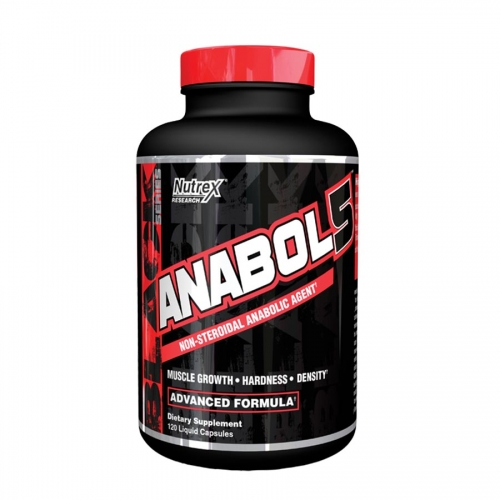 Nutrex Research Anabol 5 (60 serve) 120 Liquid Capsules