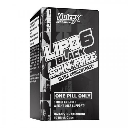 Nutrex Research Lipo6 Stim-Free (60 Serve) 60 Caps