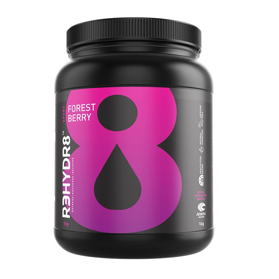 R3HYDR8 (45 serve) 1kg Forest Berry