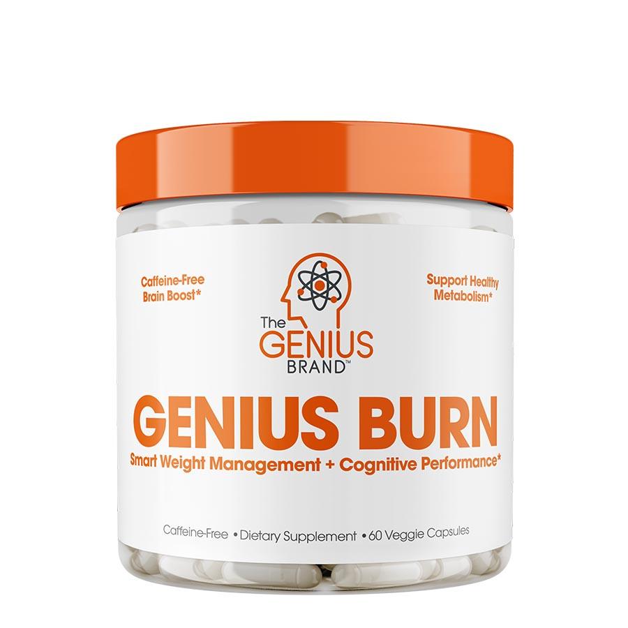 The Genius Brand Burn (60 Serve) 60 Veggie Capsules