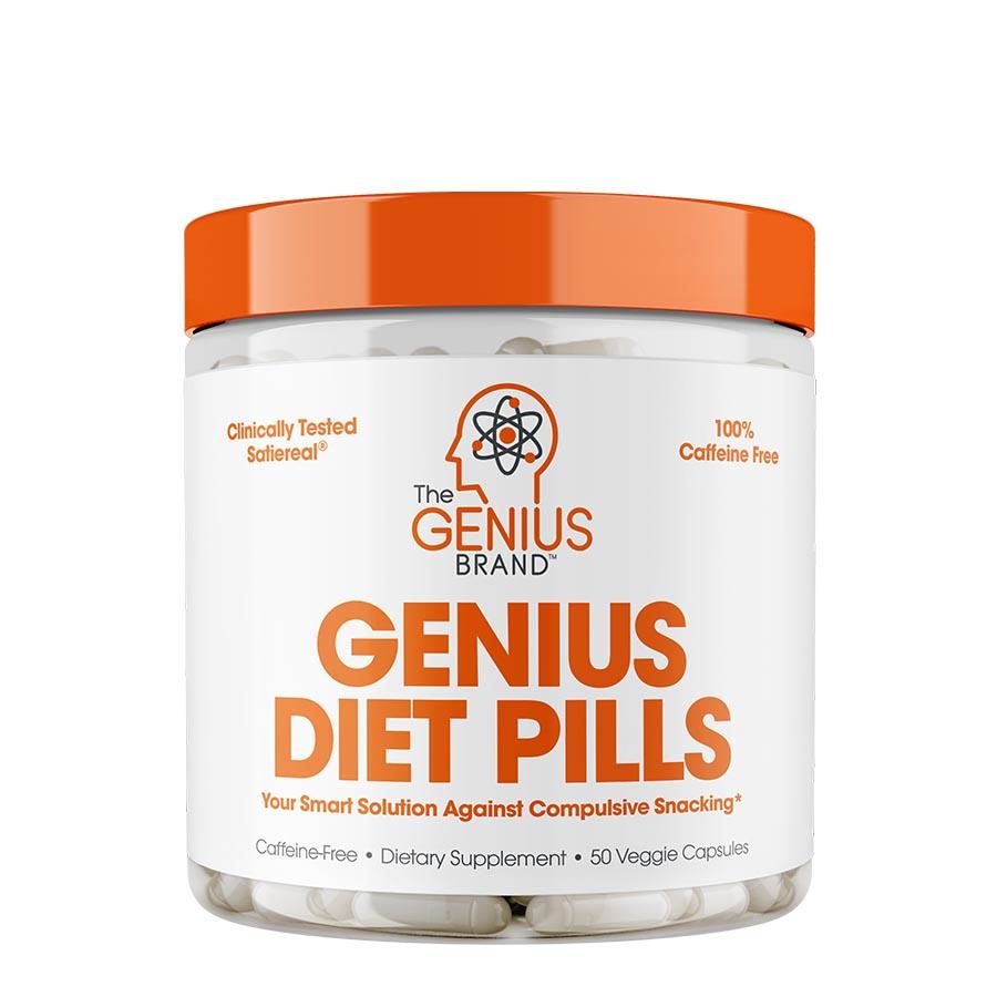 The Genius Brand Diet Pills (50 Serve) 50 Veggie Capsules