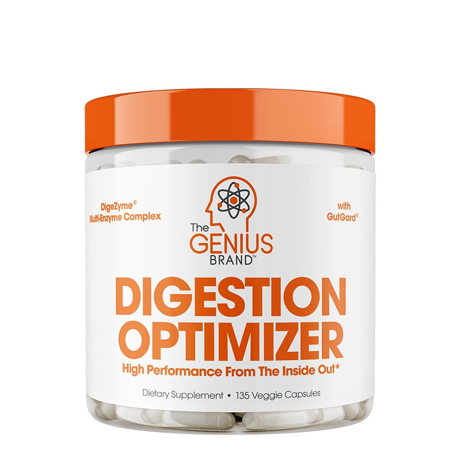 The Genius Brand Digestion Optimizer (45 Serve) 135 Veggie Capsules