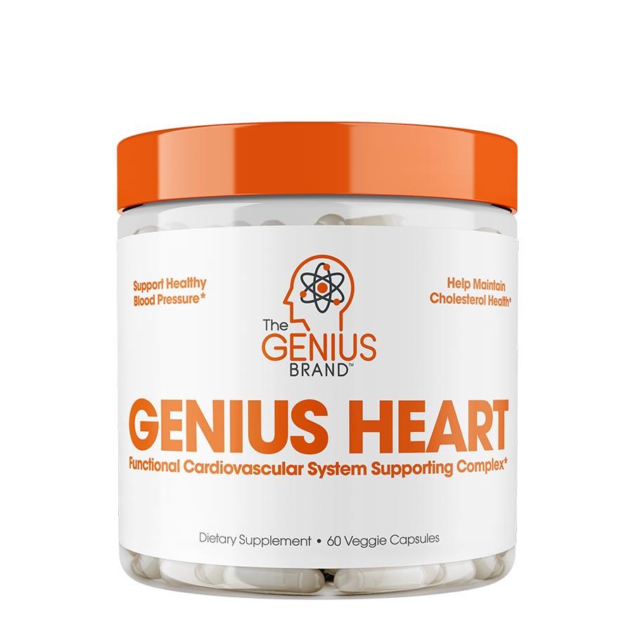 The Genius Brand Heart (30 Serve) 60 Veggie Capsules