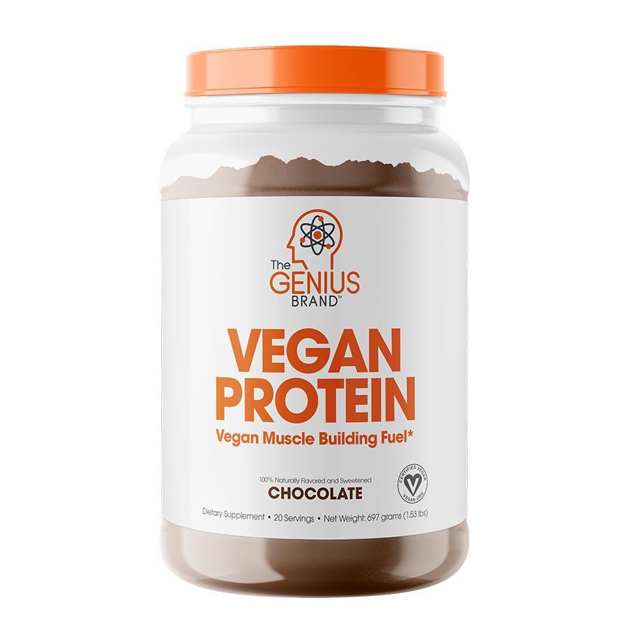 The Genius Brand Vegan Protein Chocolate (697g)