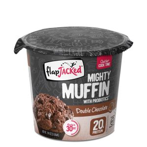 FlapJacked Mighty Muffin (55g) 12 Pack – Double Chocolate –