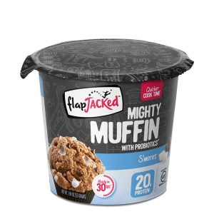 FlapJacked Mighty Muffin (55g) 12 Pack S'Mores