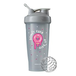 Blender Bottle Classic Special Edition 'Just For Fun' (825ml) Donut Ever Give Up