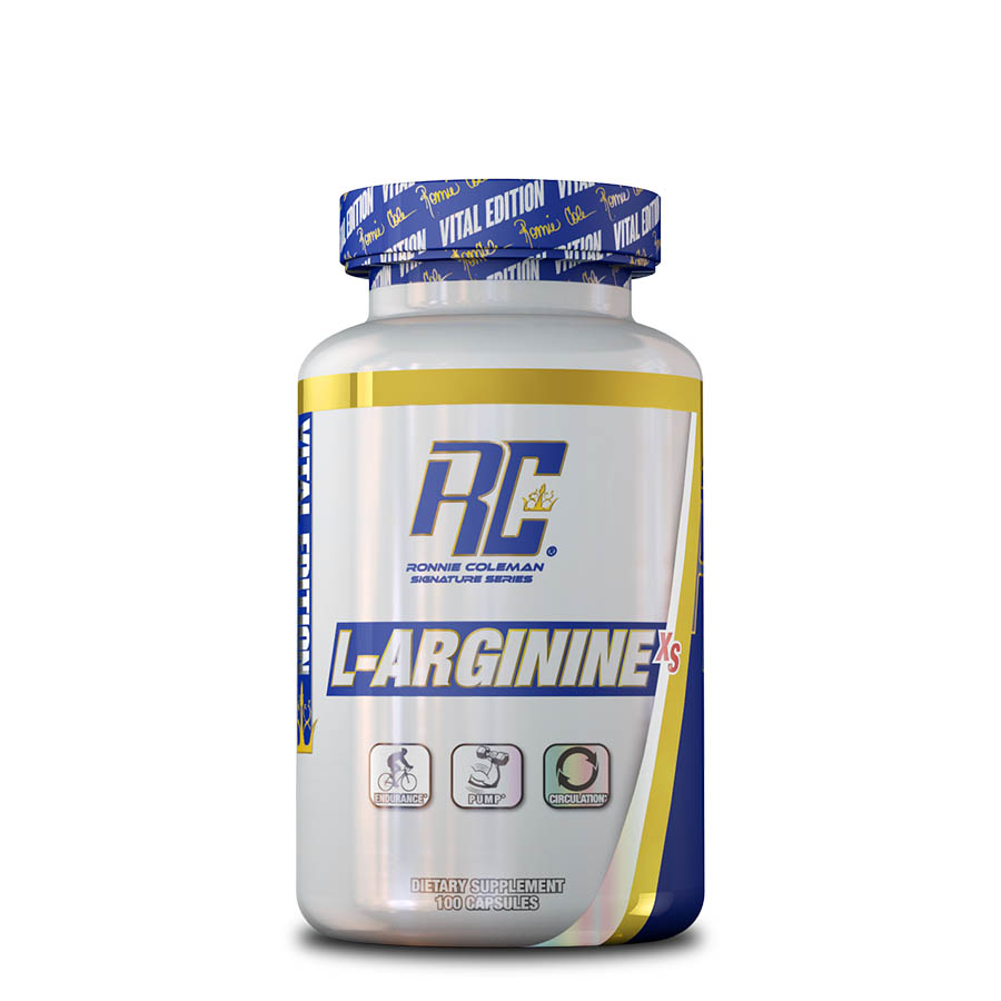 Ronnie Coleman L-Arginine XS (100 serve) 100 Capsules