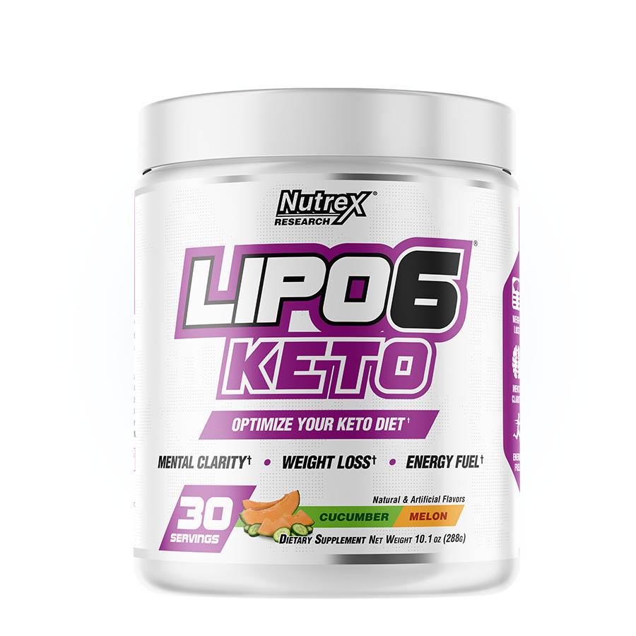 Nutrex Research LIPO-6 Keto Powder (30 serve) 176g