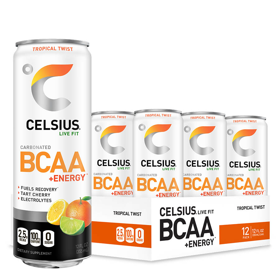 CELSIUS BCAA +ENERGY (355ml) 12 Cans